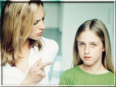 Конфликты детей и родителей