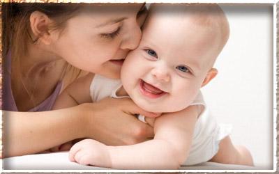 Улыбка мамы