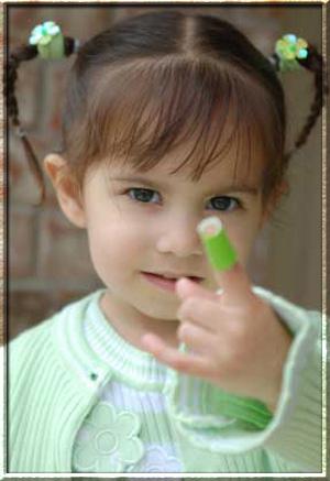Рана на пальце у ребенка