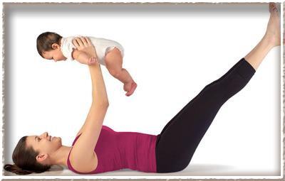 Как убрать обвисший живот после родов?