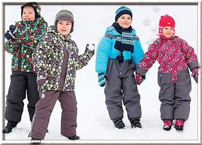 Модная детская одежда осень-зима 2010