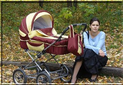 Прогулки с грудным ребенком