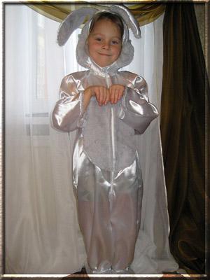 костюм зайца своими руками