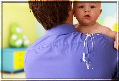 Синдром срыгивания у детей
