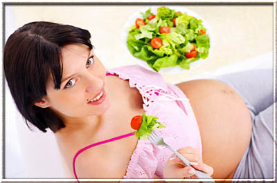 Сбалансированное питание для беременной