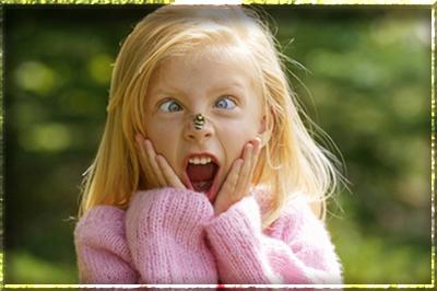 Как защитить ребенка от укусов комаров, слепней и пчел?