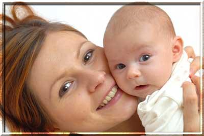Голова у младенца