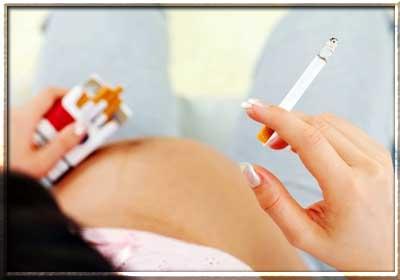 Влияние курения во время беременности
