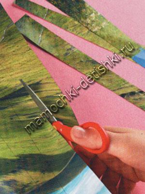 Крокусы из гофрированной бумаги своими руками: мастер