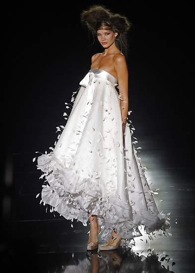 Свадебная мода фото показ модных