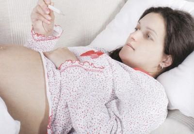 Температура у беременных
