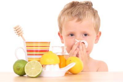 Диета для ребенка при простуде и гриппе