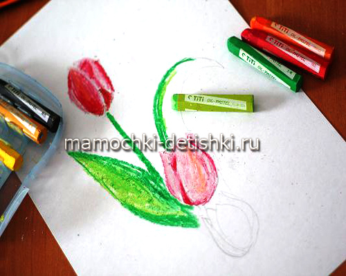 рисунок граттаж