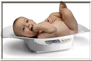 Норма набора веса у новорожденных