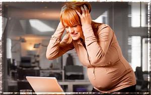 Работа в период беременности