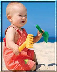 Что ребенку взять на море?