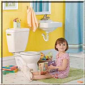 Как научить ребенка пользоваться туалетом?