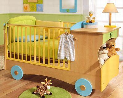 Выбор мебели для новорожденных деток