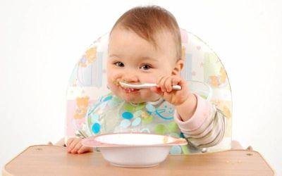 Рацион питания ребенка в год