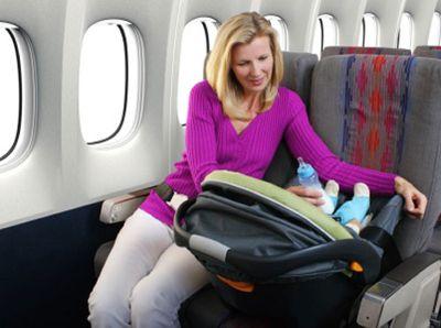 В путешествие с младенцем