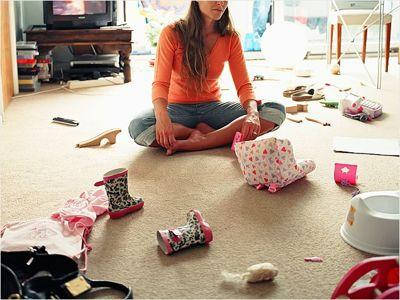 Как навести порядок в комнате ребенка