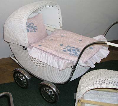 Коротко о первых детских колясках
