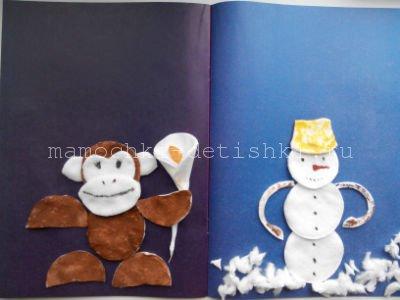 Новогодние поделки своими руками на год обезьяны
