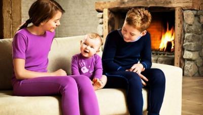 Детское термобелье - самое теплое решение в зимний период
