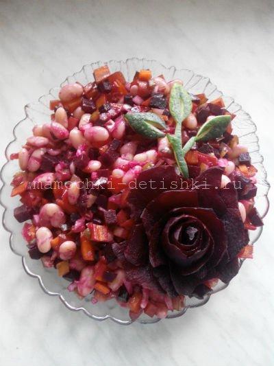 Цветы из овощей своими руками