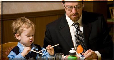 в ресторан с ребенком