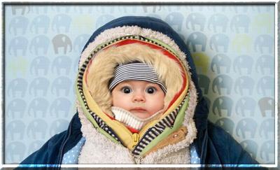 Как ребенок реагирует на погоду?