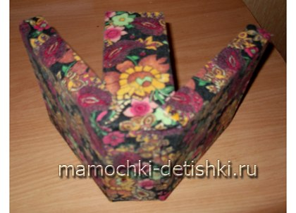 Поделка из коробки от конфет