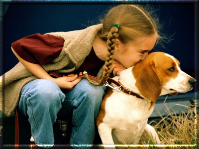 Ребенок и домашнее животное