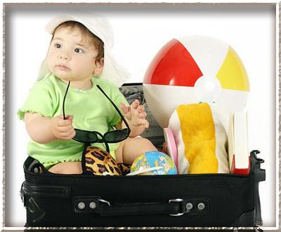 Что взять ребёнку на море?