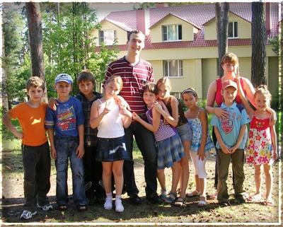 Поездка ребенка в летний лагерь