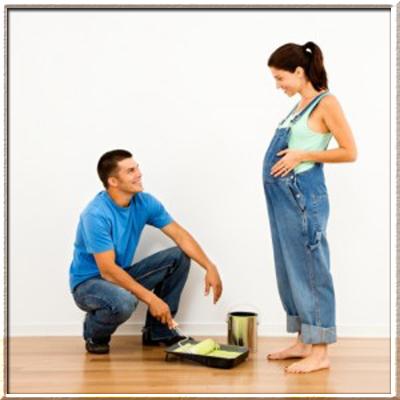 Ремонт во время беременности