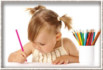 Как научить рисовать ребенка?