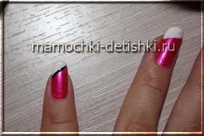 Рисунки на ногтях в домашних условиях