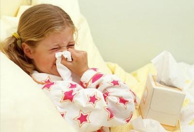 Летний грипп у ребенка