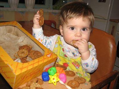 Печенье детям