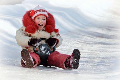 Зимние игры и развлечения для детей