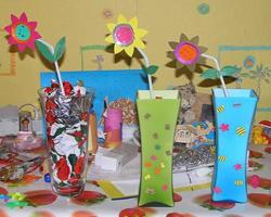 ваза к 8 марта