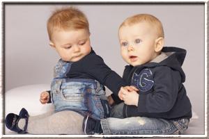 джинсовая мода для детей