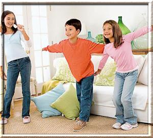 Подвижные игры для детей среднего возраста