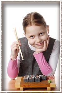 Можно ли детям суши?