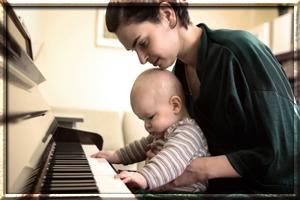 Как приобщить ребенка к музыке?