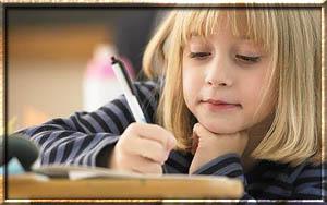 Как научить ребенка писать письмо?