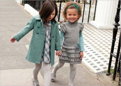 Одежда для девочек: тенденции осени