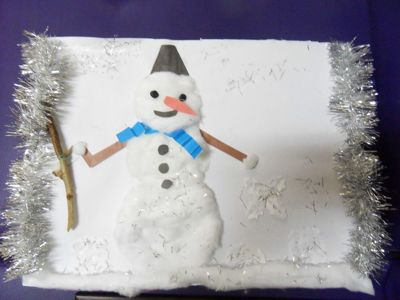 Новогодние поделки в детском саду