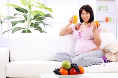 Оранжевый цвет мочи при беременности